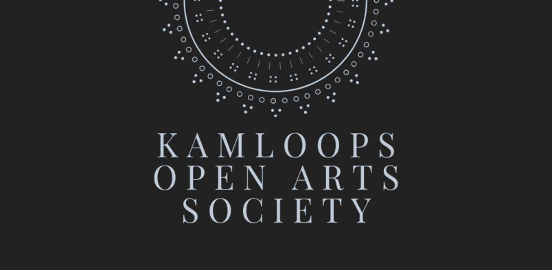 logo, kamloops open arts society logo